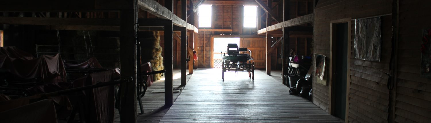 upstairs barn aisle